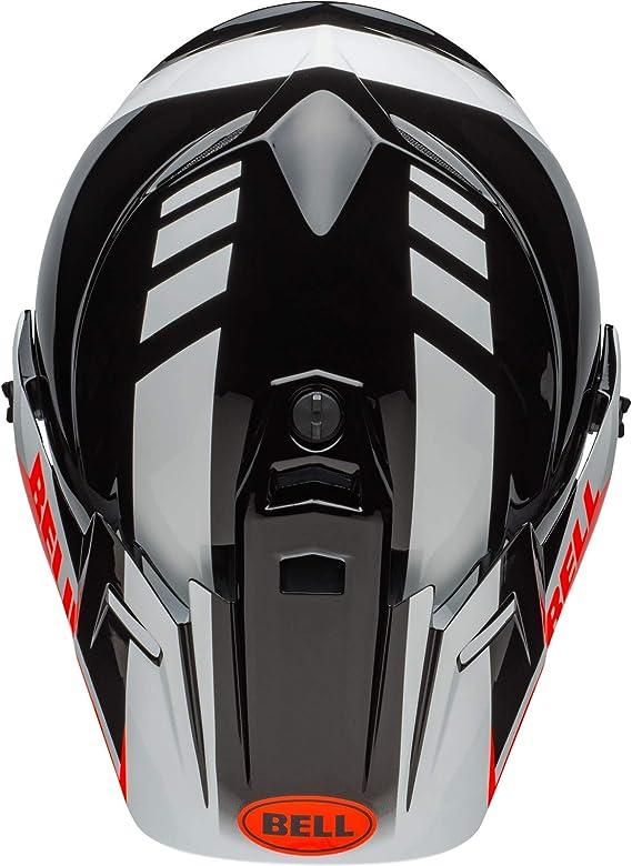 Bell Mx 9 Adventure Mips Dash Helmet Black White Orange L Auto