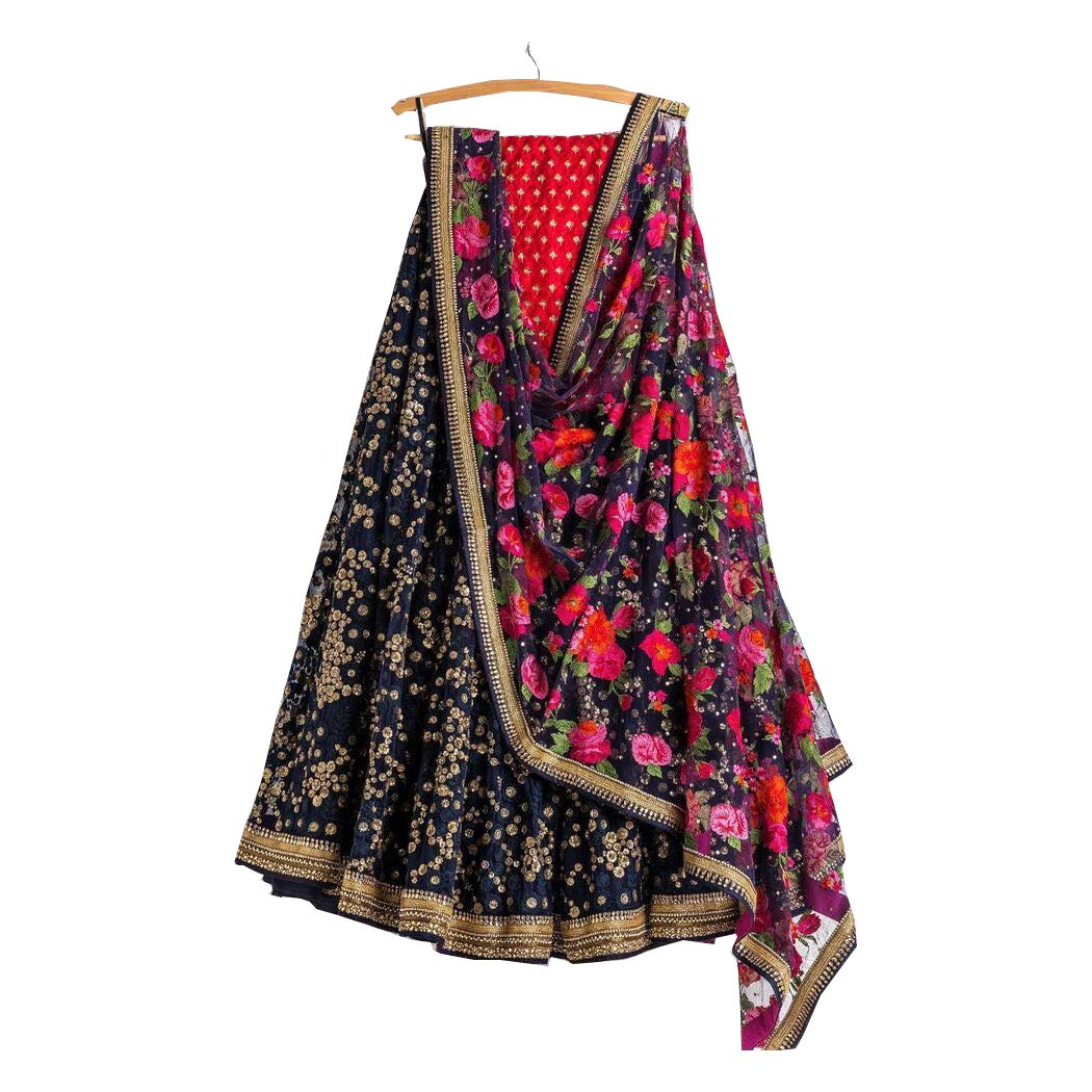 AMIT FASHIONS Exclusive Indian Designer Semi Stitch Lehenga Choli for Women's AFC_DIP3131