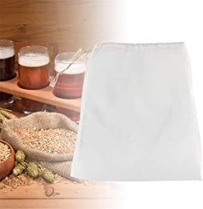 2PCS Premium Fine Nut Milk Bag - Multiple Usage Reusable Food Strainer, Food Grade Nylon Mesh, Cold Brew Coffee Bag, Cheesecloth Bags, Yogurt Strainer & Juice Filter (250 Micron,10X12 Inches)
