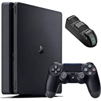 Sony Playstation 4 1TB Console - Black PS4 Slim Edition with 1TB Storage, one DS4 Wireless Controller and GalliumPi Dual…