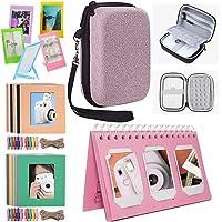 Katia Sprocket Portable Photo Printer Accessories Kit for HP X7N07A, Polaroid Zip Mobile Printer/Print Social Media Photos on 2x3 Sticky with Hard Shell Case, Calendar Album, Frames - Shining Pink