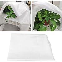 BESTINE Tuinplant Fleece Cover,Niet-geweven Stof Witte Winter Plant Beschermhoes voor het beschermen van Outdoor Fruit…