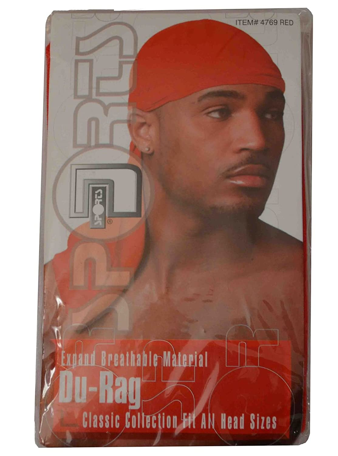 Magic Collection Pack of 2 Durag Expand Breathable Fit All Head Sizes