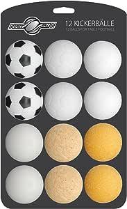 GOODS + GADGETS - Juego de 12 pelotas de futbolín para futbolín de ...