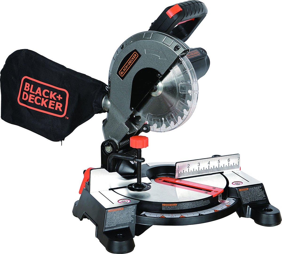 Black+Decker M1850BD 7-1/4'' Compound Miter Saw,
