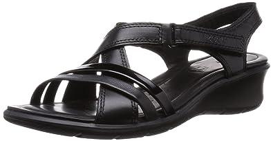 6156d0057091 ECCO Women s Felicia Wedge Heels Sandals