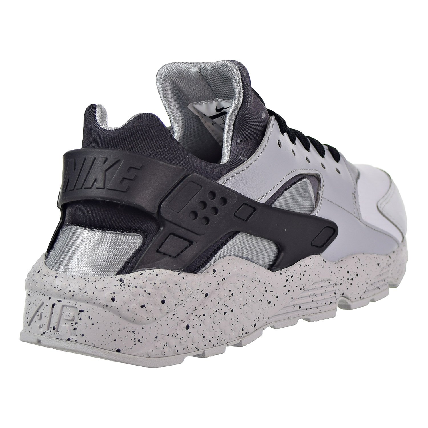 cd8304d0a8a07 Nike Men s Air Huarache Run PRM Pure Platinum Wolf Grey Black 704830-011  (Size  13)  Buy Online at Low Prices in India - Amazon.in
