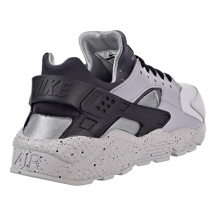 reputable site 6a0ee 3eed5 Nike Air Huarache Run PRM Mens Shoes Pure Platinum Black Wolf Grey  704830-011 (7.5 D(M) US), Running - Amazon Canada
