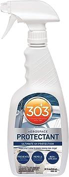 303 Marine UV Protectant Spray for Vinyl, Plastic, Rubber, Fiberglass, Leather And More – Dust and Dirt Repellant - Non-Toxic, Matte Finish, 32 fl. oz. (30306)