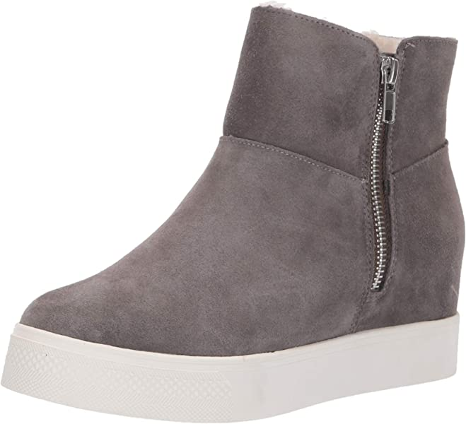 abe89ee3101 Steve Madden Women s Wanda Grey Suede Cold Weather ...