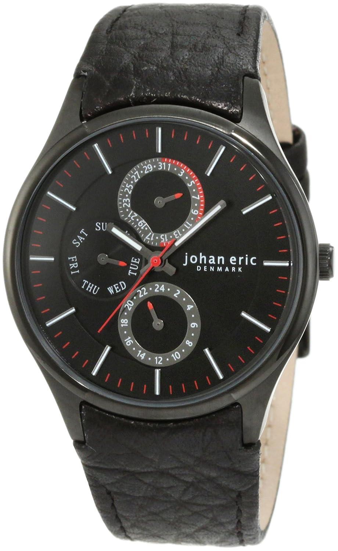 Johan Eric Herren-Armbanduhr XL Streur Analog Leder JE4001-13-007