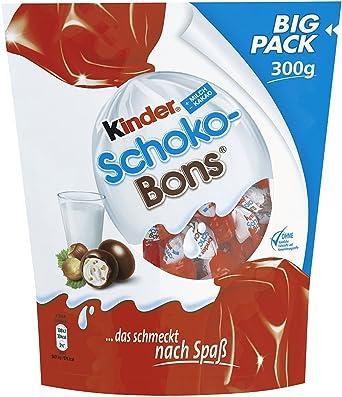 Kinder Schoko Bons Jumbo Bag 300g: Amazon.es: Alimentación y bebidas