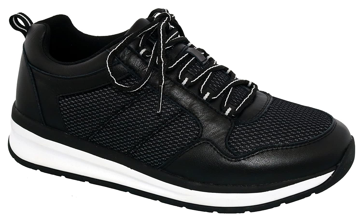 Drew Rocket Men's Walking B0767N9BDP 8.5 EEEEEE US|Black/Combo
