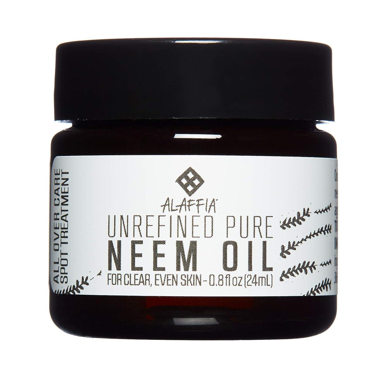 Alaffia - Unrefined Neem Oil, 0.8 Ounces