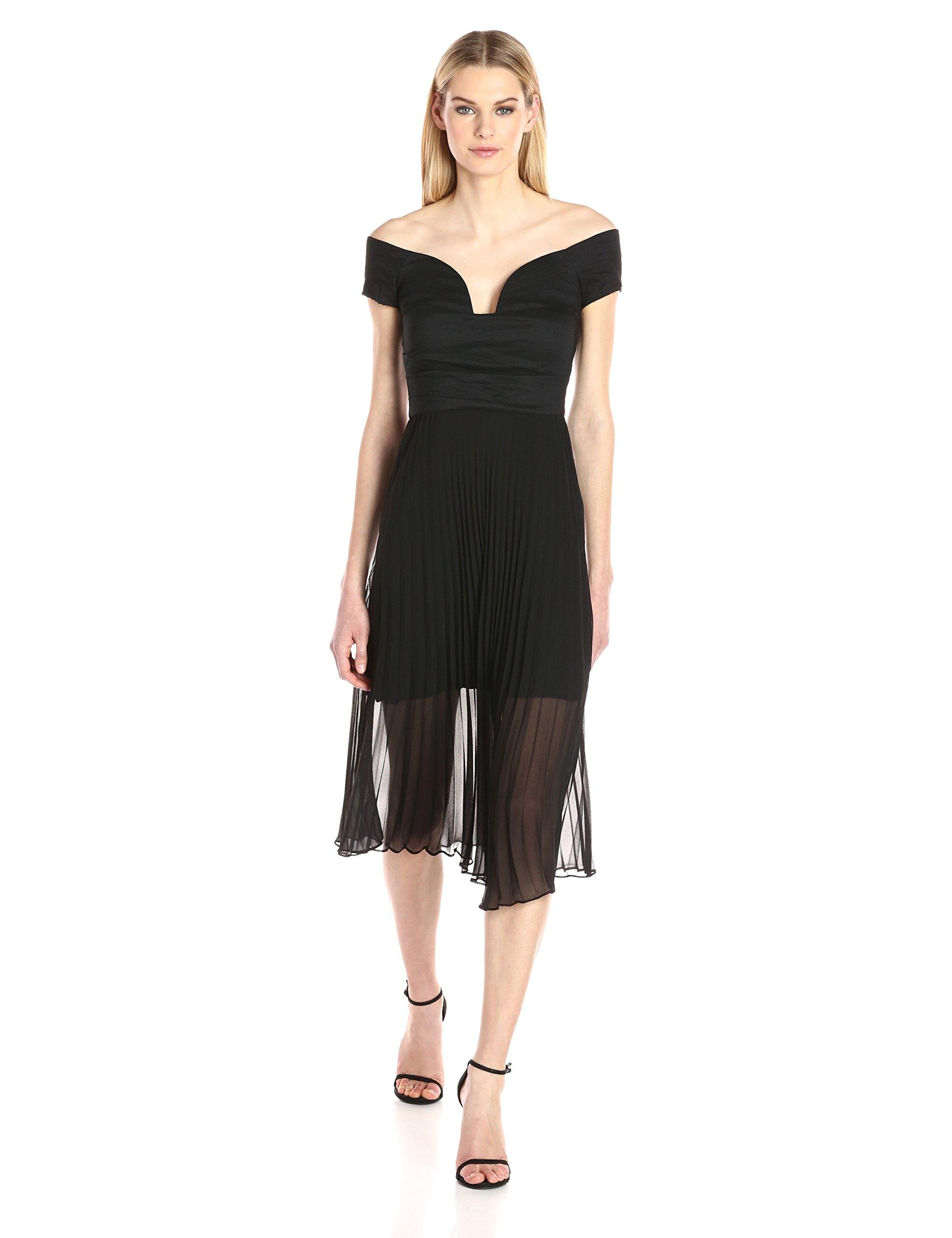 db6ffcee550 Nicole Miller New York Novelty Sleeve Cocktail Dress - Gomes Weine AG