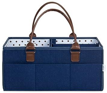 Amazon.com: Bolsa de Pañales de bebé Caddy bolsa Premium por ...
