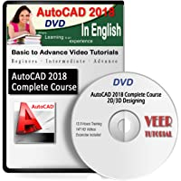 AutoCAD 2018 Complete Basic to Advance Video Training 12.5 Hrs 147 Videos