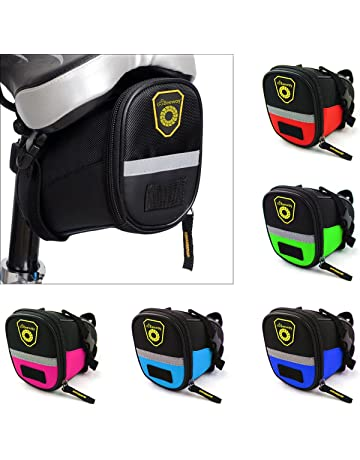 c05a85c72dc BEEWAY® Bike Saddle Bag, Outdoor Cycling Mountain Bicycle Back Seat Pack  Storage Bag -