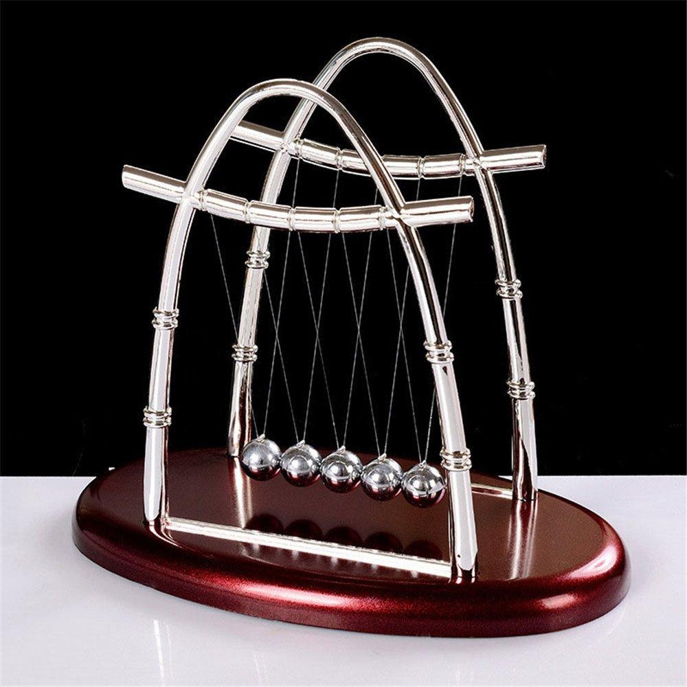 Ovovo Classic Newton's Cradle Balance Balls Physics Science Puzzle Desk Decor for Home& Office
