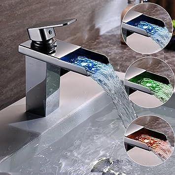 Wasserhahn Set Bad Küche Armatur Wasserfall Einhebel Modische Design
