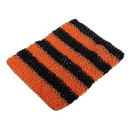 9 inch Crochet Tube Top Elastic Waistband Headband for Girls Tutu Skirt