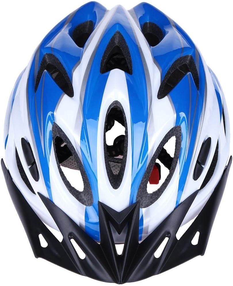 Equipo para Montar en Bicicleta de monta/ña AnySell Casco de Motocicleta Ultraligero Moldeado integralmente 18 Agujeros