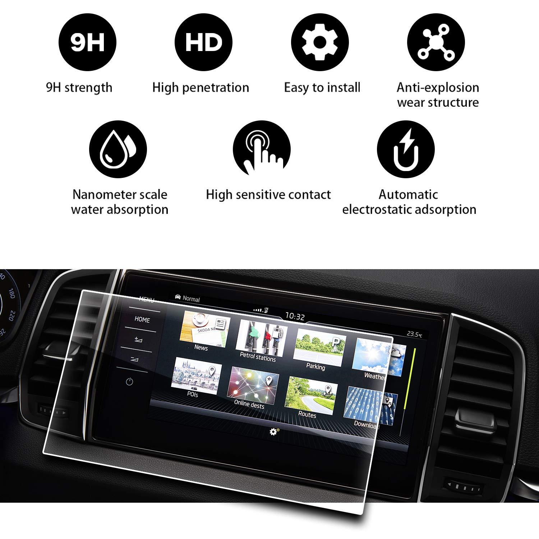 RUIYA 2017 2018 Skoda Kodiap Columbus 9.2 Inch Car Display