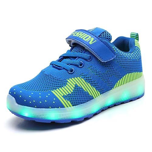cheap sale sells size 40 Skybird-UK Enfants LED Chaussures de Sport 7 Changement de ...