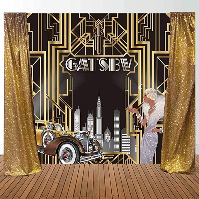 Allenjoy 7x5ft Langlebiger Stoff The Great Gatsby Kamera