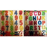 AcerDeals 52Pcs Fridge Magnetic Alphabet Letters A-Z And Or Numbers 0-9 Educational Toys