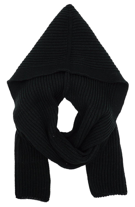 Bellady Winter Knit Hooded Scarf Pullover Headscarf Hoodie Hat Camel ZXG00002685