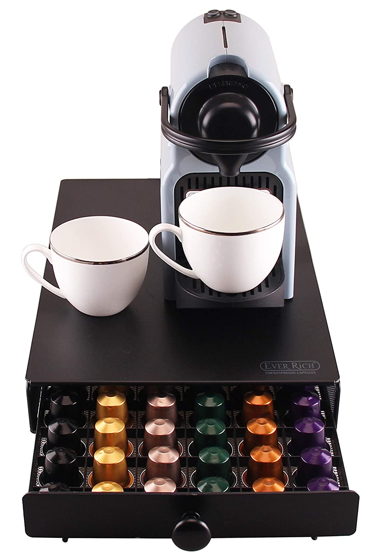 con manico rotondo porta capsule di caff/è Nespresso Ever Rich/®