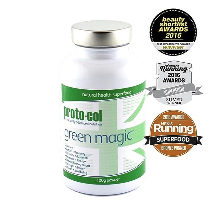 Proto-Col Proto-col Green Magic Powder 100g: Amazon.es ...