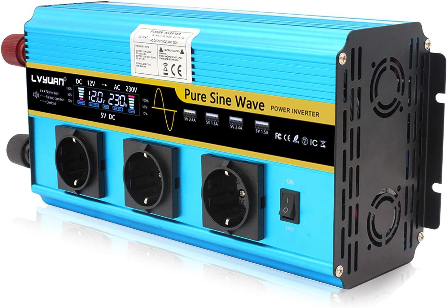 Wechselrichter 3000w 6000w Spannungswandler Reiner Elektronik