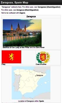 Map Of Spain Zaragoza.Amazon Com Zaragoza Spain Offline Map Place Stars Appstore For