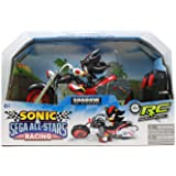 NKOK Sonic and Sega All-Stars Racing Remote Controlled Car: Shadow The Hedgehog