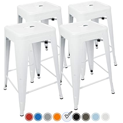 Amazon.com  UrbanMod 24 Inch Bar Stools for Kitchen Counter Height ... 579e45d93f