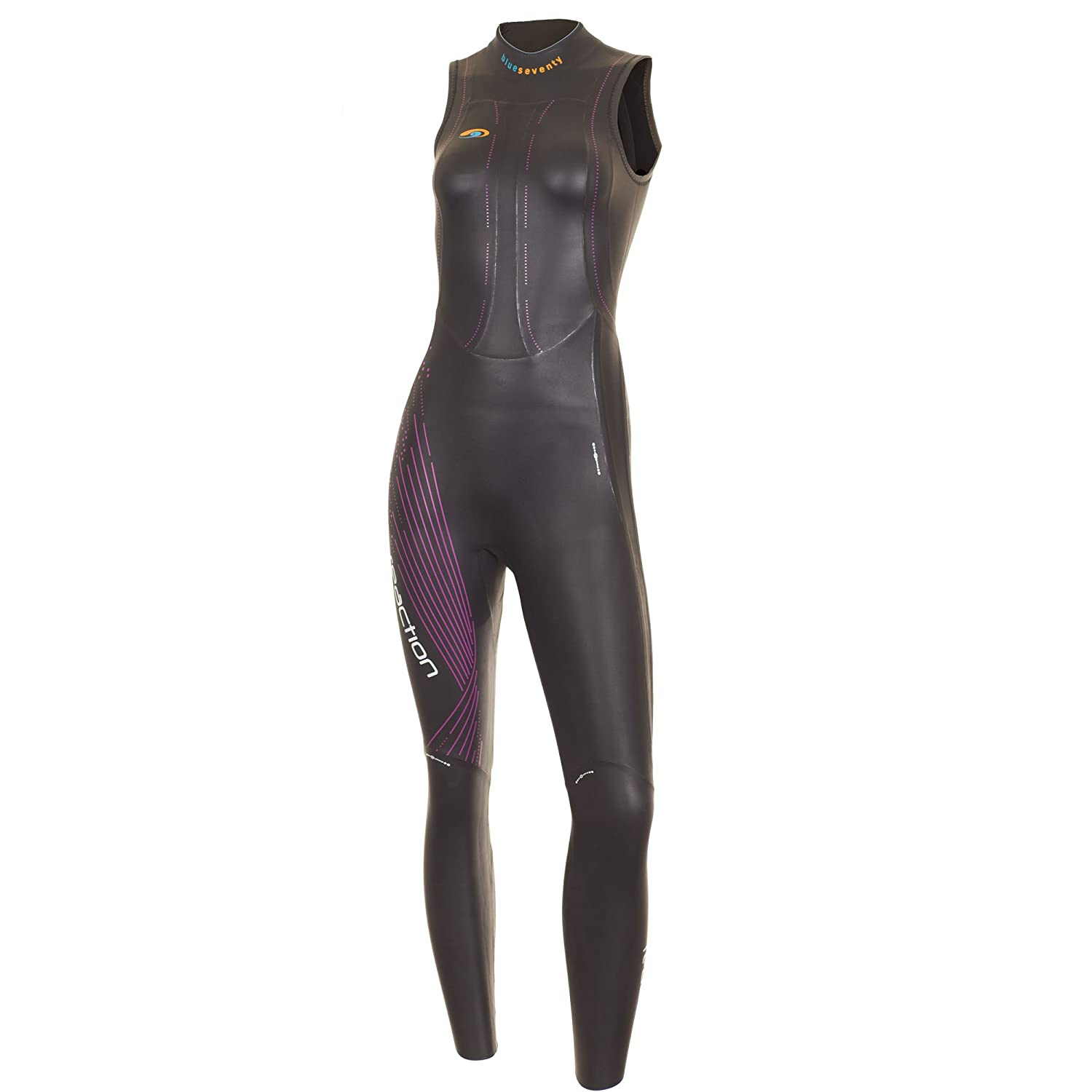 355c64039a57 Amazon.com: blueseventy Women's Reaction Sleeveless Triathlon Wetsuit:  Sports & Outdoors