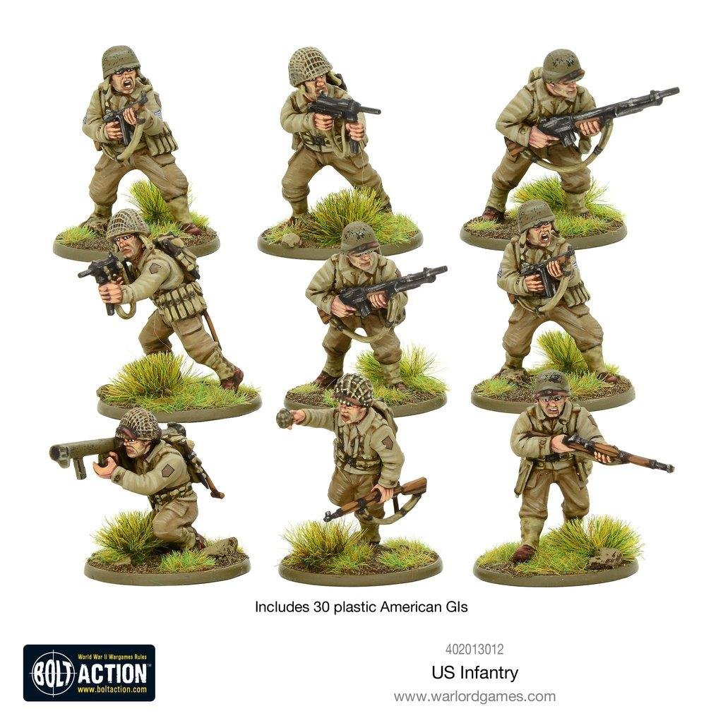 Warlord Games Bolt Action: US Infantry - WWII American GIs (New Sculpts)