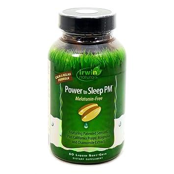 Amazon.com: Irwin Naturals Potencia a dormir PM melatonin ...