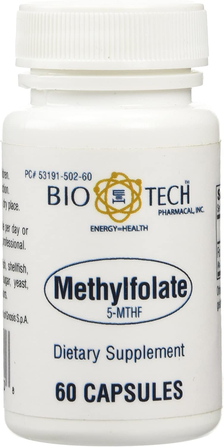 Bio-Tech Methylfolate 5-MTHF 60 Caps