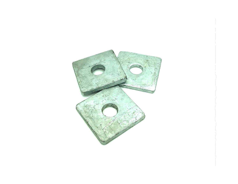 3//4 x 2-3//4 x 2-3//4 x 5//16 Square Washer Galvanized 15//Pack