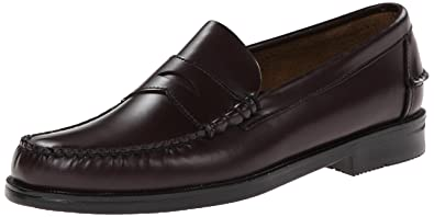 010c226a022 Sebago Mens Classic Penny Loafers Black  Amazon.co.uk  Shoes   Bags