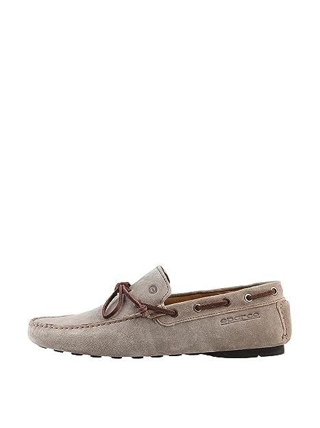 Sparco Monaco - Mocasines para Hombre, Color Beige, Talla 39: Amazon.es: Zapatos y complementos