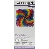 Spinrite Wonderart Shaggy Kit de Ganchillo, diseño de Perro, Pinwheel, 1