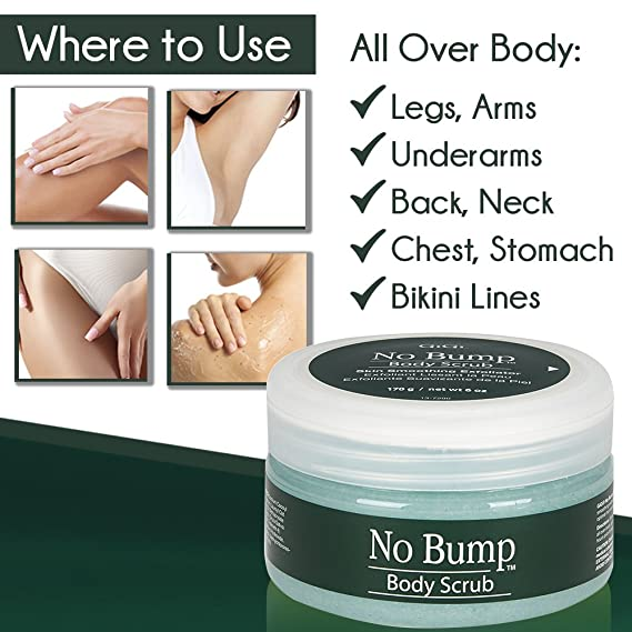 Amazon Com Gigi No Bump Body Scrub With Salicylic Acid For