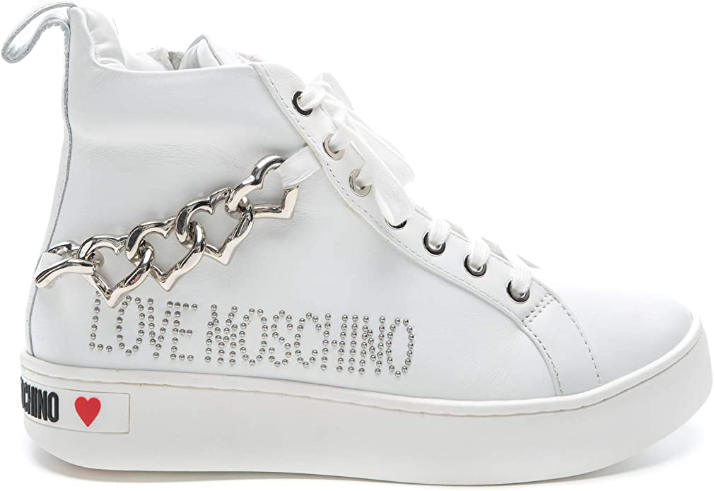 Love Haut Baskets Chaussures Pour Moschino Femmes OPm8ynv0wN