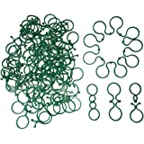 200 Pcs Sturdy Plant Support Clips for Vegetables Tomato Vine Flower Locks, Help Garden Plants to Grow Upright and…