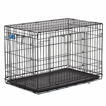 Amazon Top Paw Double Door Wire Dog Crate Black 36l X 23w