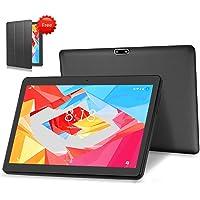 "LNMBBS 4G LTE Tablet 10.1"" Full HD Tableta Android 9.0 pie OS, 4GB de RAM y 64 GB de Memoria, WiFi GPS Buletooth Soporta (Negro)"
